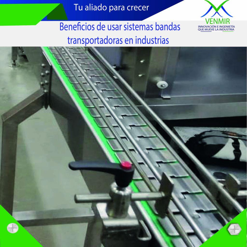 Banda transportadora table top
